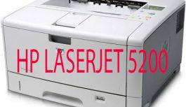 MÁY IN LASER A3 HP 5200 DN ( IN MẠNG – IN 2 MẶT )