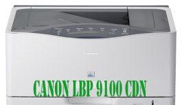 MÁY IN LASER MÀU A3 CANON LBP 9100 CDN CŨ