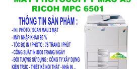MÁY PHOTOCOPPY MÀU A3 ( RICOH MPC 6501 )