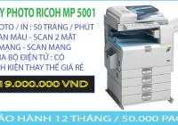 MÁY PHOTOCOPPY TRẮNG ĐEN RICOH MP 5001