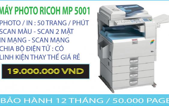 RICOH MP 5001 NỘI ĐỊA